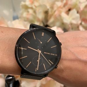 Black Michael Kors Watch